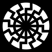 Ce symbole est largement utilisé par les néonazis