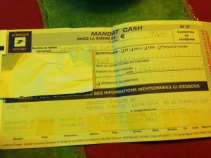 cheque support POW